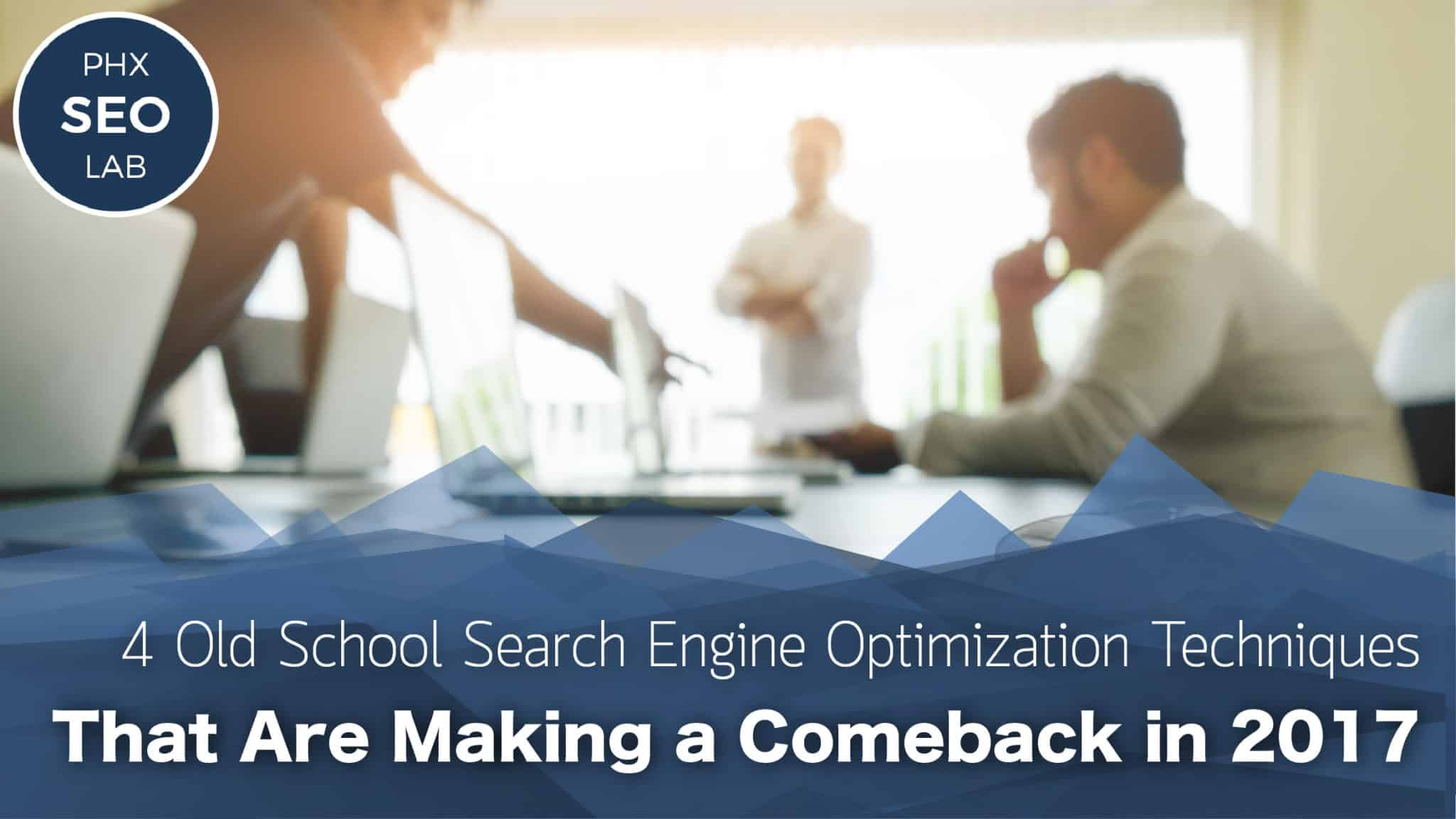 Are Search Engines Making Students >> 4 Old School Search Engine Optimization Techniques That Are Making A