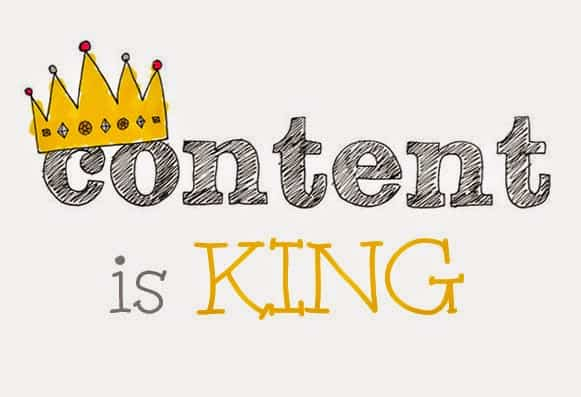 Content is king on social marketing